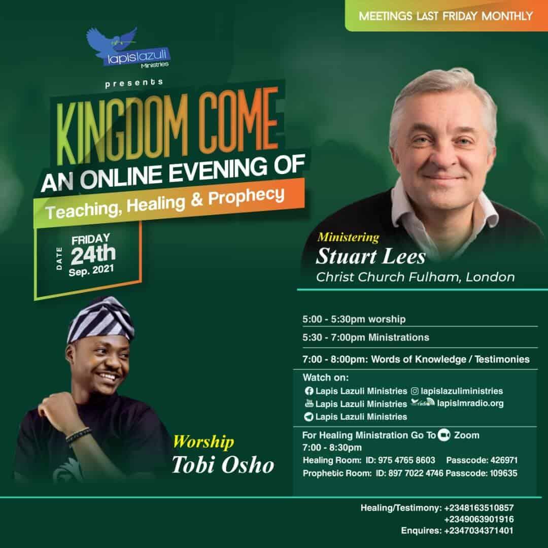 Kingdom Come - Sep 2021